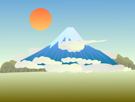 Scenery of Mt. Fuji