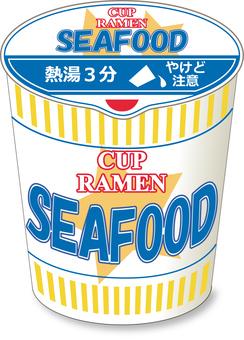 Cup noodle seafood ___ closure