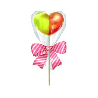 Heart's candy