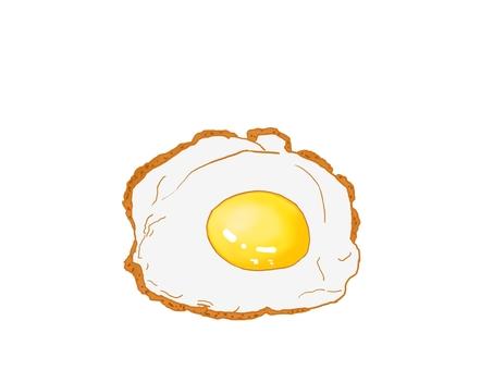 煎雞蛋(無菜)