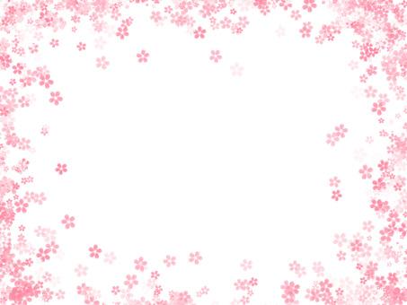 Cherry blossom frame ver 02