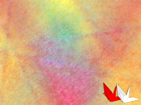 Cranes crane red and white wallpaper (2012)