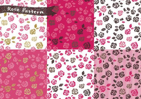 Rose Pattern Set 1 Girly
