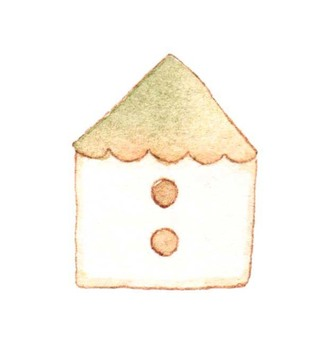 House triangle roof