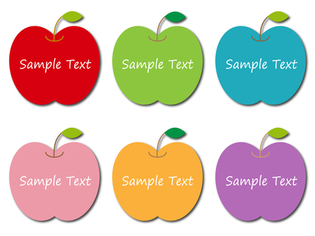 Apple frame material set
