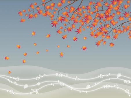 閃閃發光的秋葉2