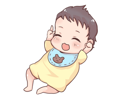 Baby (laughing face)