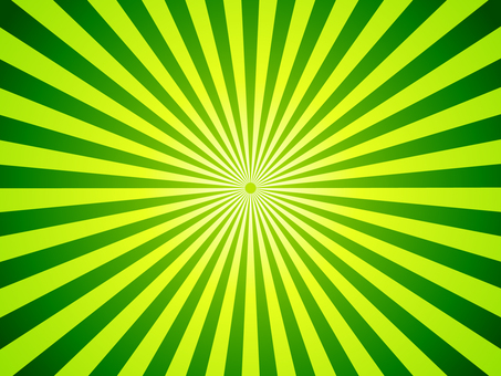 Yellow green and green radiation