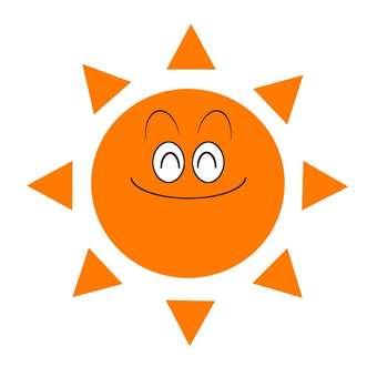 太陽/にこにこ