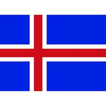 아이슬란드의 국기