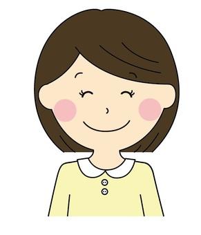 Smile smiling girl