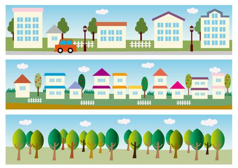 Landscape townscape