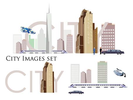 도시 (City) 이미지 세트