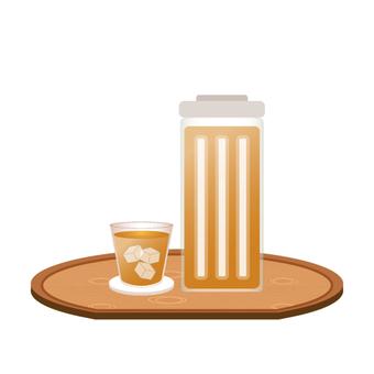 Seasonal drink (barley tea)