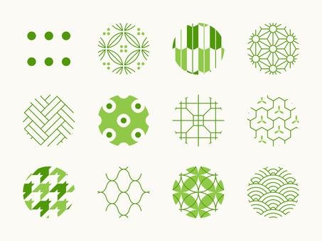 Japanese Pattern 12 species Moe