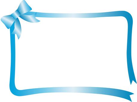 Ribbon decorative frame