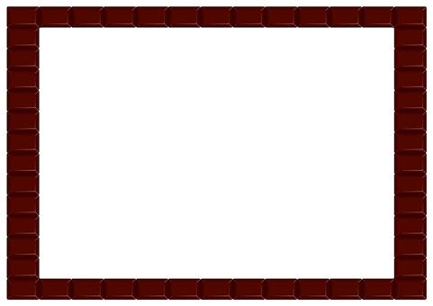 Board chocolate frame