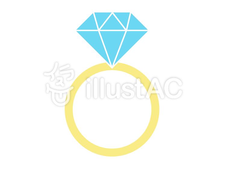 ダイヤモンドの指輪イラスト No 716830無料イラストならイラストac