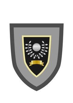 Commendation shield
