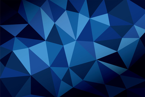 Polygon style ☆ Geometry ☆ Blue background material