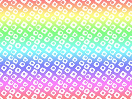 Chiyogami Aperture (Rainbow)