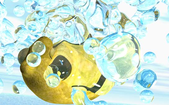 Water splashing on lemon 4-2