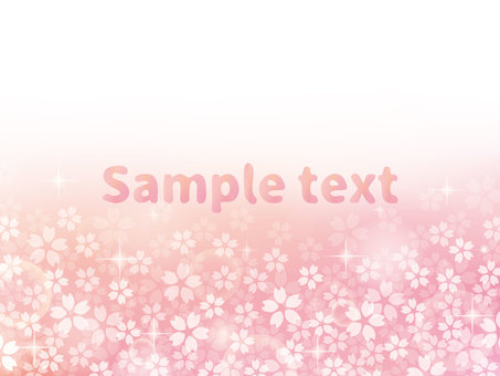 Cherry glitter background material (png characters without)