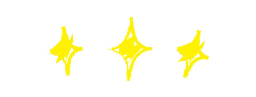 Hand-drawn star