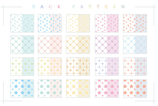 Background pattern collection