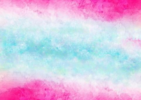 Pink and blue watercolor wallpaper · A4 Novi