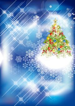 Christmas tree & snow 38