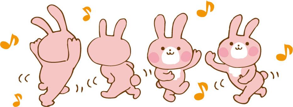 춤추는 토끼 B
