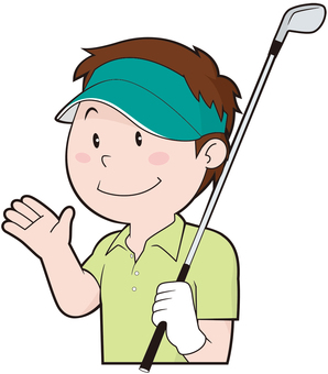 Golf player (male)