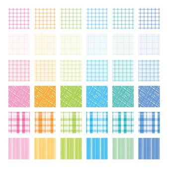 Various pattern patterns