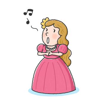 Soprano singer