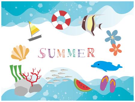 여름 소재