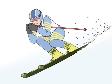 Alpine ski 1