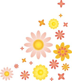 Flower 02 - Corner frame 01
