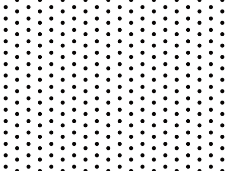 In a dotted pattern · in a dot pattern · black