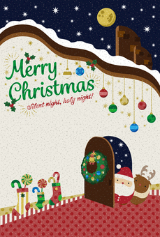 Christmas card [postcard size] lease