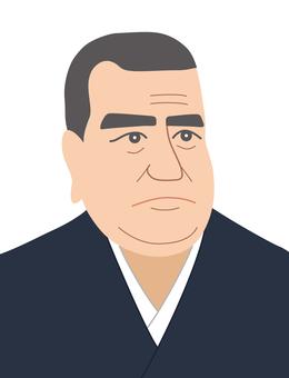 Takamori Saigo (color)