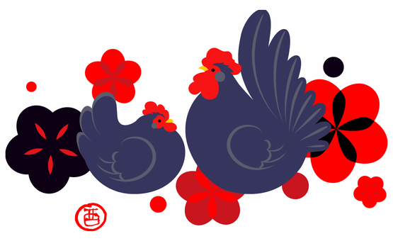Rooster material 04
