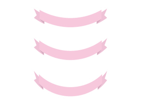 Ribbon 19 - Pink