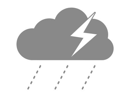 Thunderstorm mark