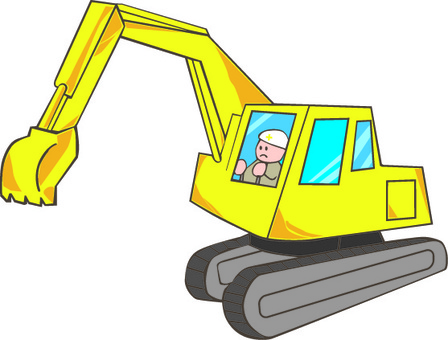 Shovel car heavy machinery construction civil engine