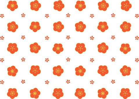 Plum pattern 04