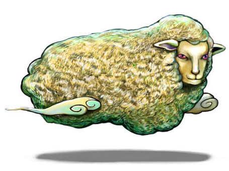 羊雲のモンスター