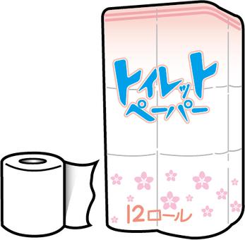화장지 (12 롤 입력)