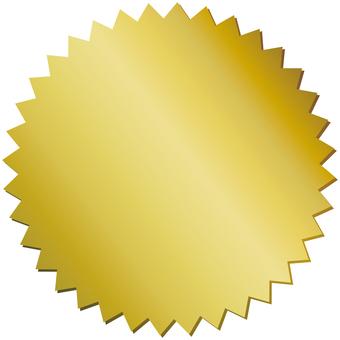 Jagged jagged gold gold label label background frame