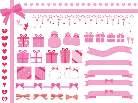 Cute pink set
